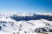 Ski resort in the italian alps — Stock Photo