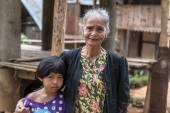 Portrait of people from Tana Toraja — Stock Photo