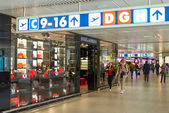 Dolce & Gabbana store at Fiumicino Airport in Rome — Stock Photo