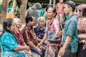 Group of Toraja People, filtered image — Stock Photo