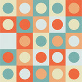 Abstract background circles on the square vector — ストックベクタ