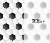 Geometric football background — Stock Vector