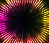 Purple shining cosmic lights abstract background — Stockvektor