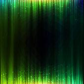 Zelená svítí ekvalizér vektorové abstraktní pozadí — Stock vektor
