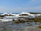 Stormy ocean bay, Sri-Lanka — Stock Photo