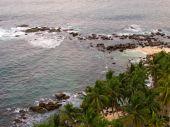 Top view of ocean bay in Sri-Lanka — Stock Photo