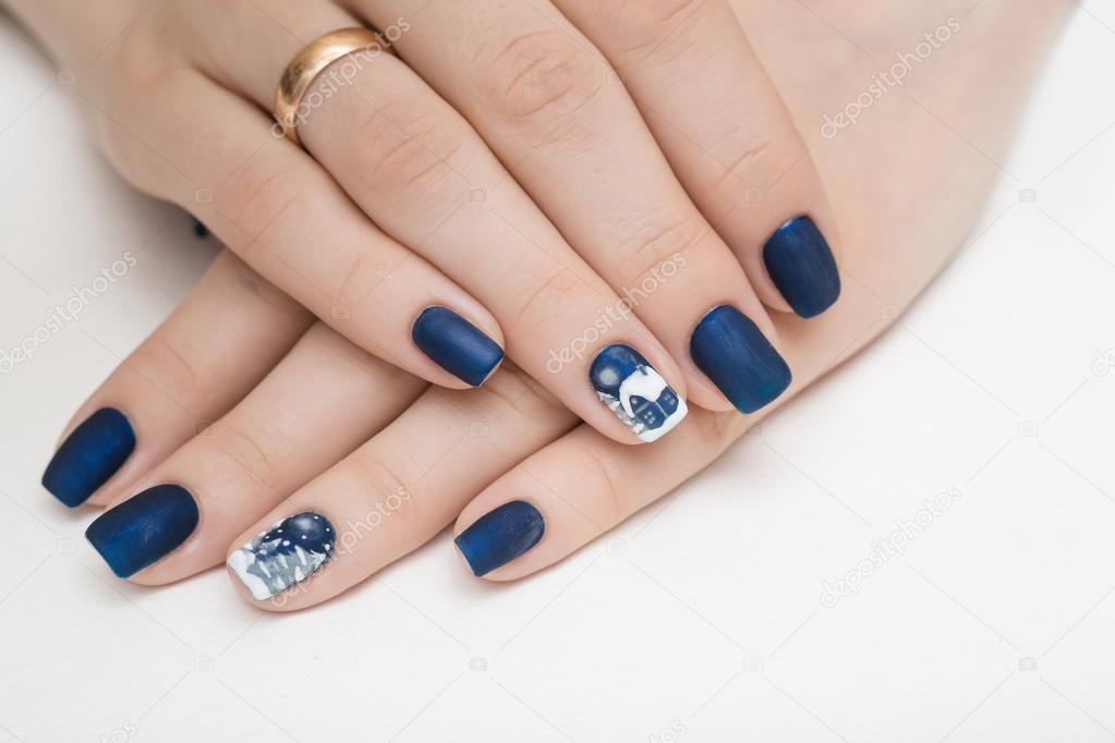 Nails, nail, polish, blue, hand, beauty, beautiful ...