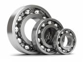 Group of bearings isolated — Foto Stock