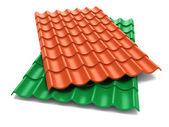 Shingles roof sheets — Stock Photo