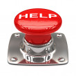 Help button — Stock Photo #54658999