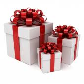 Group of gift box — Stock Photo