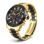 Swiss golden wrist watch — Stock Photo #80561218