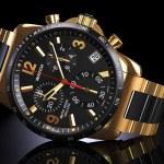 Golden wrist watch — Stock Photo #80561244