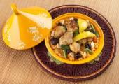 Tajine, Moroccan food. — Stock Photo