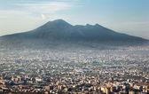 Vesuvius volcano in Naples Italy — Stock Photo