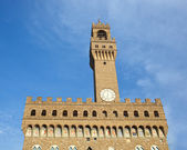 The Old Palace, Palazzo Vecchio or Palazzo della Signoria, Flore — Stock Photo