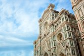 Basilica of Saint Mary of the Flower, Florence. — Stock Photo