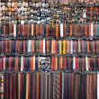 Background of olored leather belts — Stock Photo #56643853