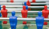 Foosball table — Stock Photo