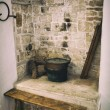 Old fireplace used for cooking — Stock Photo #58032403