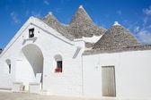 Sovereign trullo in Alberobello — Stock Photo