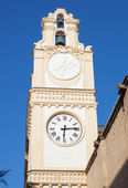 Clocktower in the center of the town of Gallipoli — Stock Photo