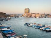 Panoramic view of Gallipoli harbour — Stock Photo