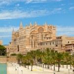 Majorca La seu Cathedral — Stock Photo #59972939
