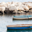 Fishing boats in the Gulf of Naples — Stock Photo #61776947