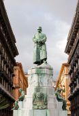 Statue ov Umberto I in Naples — Stock Photo