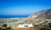 Landscape from Santorini island — Stock Photo