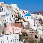 View on Oia village, Santorini Island. — Stock Photo #62438487