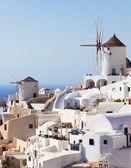 Windmill in Oia, Santorini. — Stock Photo