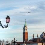 San Giorgio Maggiore church view from Saint Mark Square — Stock Photo #64301665