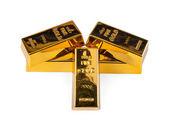 Gold bullion — Stock Photo