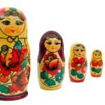 Russian family set dol — Stock Photo #66387899