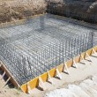 Foundation of a new house. — Stock Photo #72581549