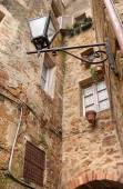 L'antica città italiana di pienza — Foto Stock