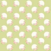 марочные шаблон с венком из роз — Cтоковый вектор