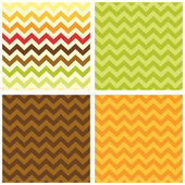 Primitive retro seamless chevron pattern — Stock Vector