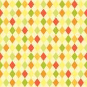 Retro primitive rhombus background — Stock Vector
