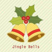 Christmas bells — Stockvektor