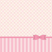 Pattern with ribbon and bow — Stok Vektör