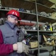 Industrial Worker Showing Thumbs Up — Stock Video #68945247