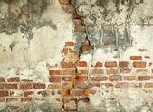 古い赤レンガの壁 — ストック写真