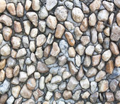 Old wall made of rocks and mortar — Stock Photo