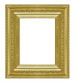 Picture frame wood — Stockfoto