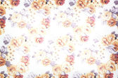 Fragment of colorful retro tapestry textile — Stock Photo
