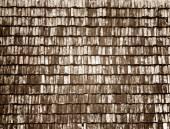 Stary dach drewno — Zdjęcie stockowe