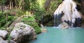 Waterfall Lamphun thailand — Stockfoto